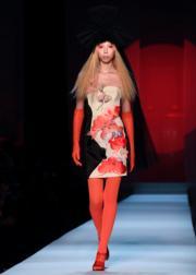 【巴黎2019年春夏高級訂造服時裝騷】Jean Paul Gaultier 2019年春夏高級訂造服時裝騷(法新社)