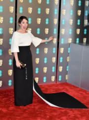 奧莉菲亞高文憑《爭寵》的安妮女王角色在BAFTA封后。(Getty Images)