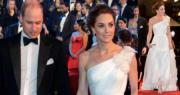 凱特露肩長裙配珍珠耳環 孖威廉現身「英國奧斯卡」頒獎禮
