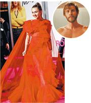 李安漢斯禾夫腎結石入院 Miley代夫出席新片首映禮