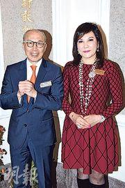 蔡李惠莉4月卸任保良主席:老公日日幫我倒數