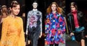 米蘭時裝周正在舉行,Fendi、Prada、Versace、MSGM等多個品牌展示2019秋冬穿搭。(法新社/明報製圖)