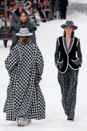 【巴黎時裝周】Chanel 2019秋冬系列(法新社)