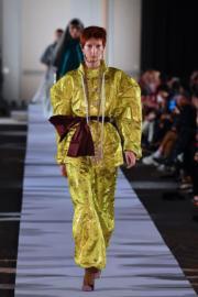 【巴黎時裝周】Vivienne Westwood 2019秋冬系列(法新社)
