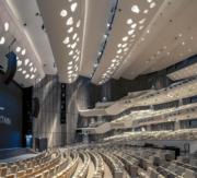 【磯崎新建築作品】卡塔爾多哈卡塔爾國家會議中心 (2004-2011)(照片由Hisao Suzuki提供/普利茲克建築獎網站圖片)