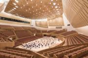 【磯崎新建築作品】上海交響樂團音樂廳 (2008-2014)(照片由Chen Hao提供/普利茲克建築獎網站圖片)