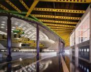 【磯崎新建築作品】西班牙巴塞隆拿聖喬治宮體育館 (1983-1990)(照片由Hisao Suzuki提供/普利茲克建築獎網站圖片)