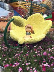 【香港花卉展覽2018】展品「童‧心‧世界」(丘萃瑩攝)