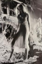 【Audrey Hepburn相展】柯德莉夏萍在電影《翠谷香魂》的珍貴照片。(何芍盈攝)