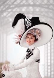 【Audrey Hepburn相展】柯德莉夏萍拍攝電影《窈窕淑女》。(Bob Willoughby攝/圖片由F11 Foto Museum提供)