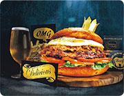 飲食Quicknote:睇欖球賽吃巨型漢堡 挑戰做「大胃王」