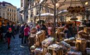 【復活節x復活蛋】奧地利維也納傳統復活節市場。(新華社,攝於2019年4月15日)
