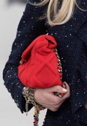 Chanel Cruise 2019/20系列手袋(法新社)