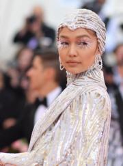 【Met Gala 2019】美國名模Gigi Hadid(法新社)