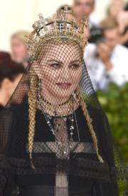 【Met Gala 2018】美國樂壇天后麥當娜(Madonna)(法新社)