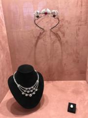 【Grace Kelly展覽@澳門銀河】嘉麗絲姬莉的首飾(何芍盈攝)