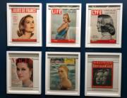 【Grace Kelly展覽@澳門銀河】現場展品:嘉麗絲姬莉的雜誌封面(何芍盈攝)