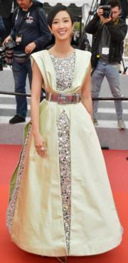 桂綸鎂穿著Chanel晚裝出席《南方車站的聚會》首映禮。