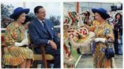 1975年,英女王首度訪港。(政府新聞處資料圖片)