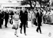 1975年,英女王訪港。(政府新聞處資料圖片)