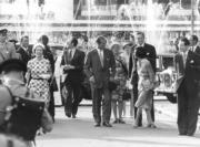1975年,英女王伉儷訪港。(政府新聞處資料圖片)