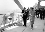 1986年,英女王再度訪港(政府新聞處資料圖片)