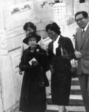 【1986年訪華】英女王遊覽故宮。(中新社)