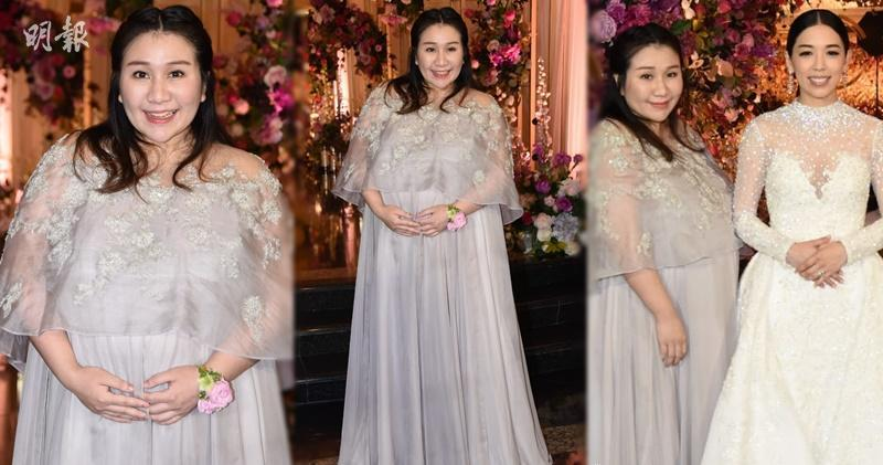 【懷孕7個月】著巨型姊妹裙見證Carmen婚禮 超盈呻佗B好辛苦 (20:56)