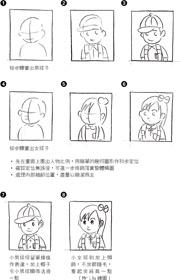 童繪遊樂場:簡筆畫.人物篇 簡潔中帶出鮮明形象