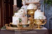 哈里王子和梅根的結婚蛋糕 (Kensington Palace Twitter圖片)