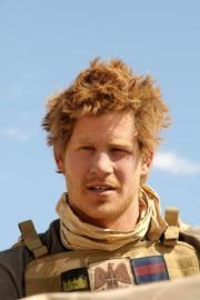 2008年2月20日,哈里王子在阿富汗南部 (法新社)