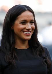 2019年6月29日,梅根在倫敦出席棒球比賽。(法新社)