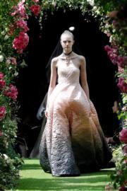 【巴黎2019年秋冬高級訂造服時裝騷】Christian Dior 2019/2020秋冬高訂時裝騷(法新社)
