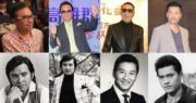 姜大衛(左起)、秦祥林、謝賢及呂良偉,四位小生各有不同味道。(資料圖片/明報製圖)
