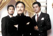 呂良偉(左)在《上海灘》飾演「丁力」而爆紅。(資料圖片)