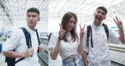 孖連詩雅赴韓國拍節目 陳家樂:要食到變肥仔