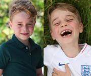 喬治小王子甩牙仔 凱特影新相賀喬治6歲生日