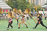 盂蘭競賽:文化節「新派」搶孤