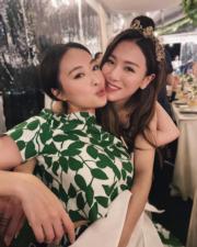 陳瀅跟王敏奕是M Club好姊妹。(陳瀅IG圖片)