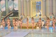 10名佳麗以泳裝示人。(娛樂組攝)