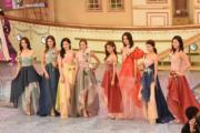 10名佳麗展現不同美態。(娛樂組攝)