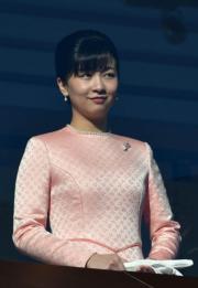 2019年1月2日,日本佳子公主出席日本皇室的新年活動。(法新社)