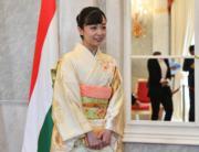 【日本佳子公主訪匈牙利】2019年9月20日,佳子公主(法新社)