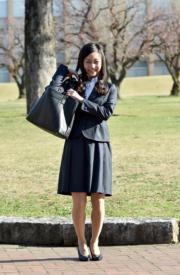 2015年,佳子公主(法新社)