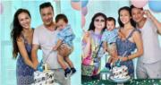 與兒子同月同日生 Rosemary抱囝囝開派對慶祝