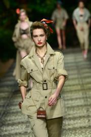 【米蘭時裝周2020春夏系列】Dolce & Gabbana 2020春夏手袋(法新社)
