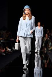 【米蘭時裝周2020春夏系列】Emporio Armani 2020春夏手袋(法新社)