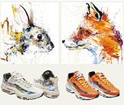 Bulletin:藝術波鞋上的狐與兔