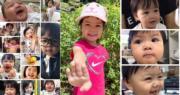 「包包」徐心怡今日4歲生日,不少網民確實見證包包成長。(facebook圖片)