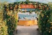 Janice Man的婚前派對現場。(網上圖片)